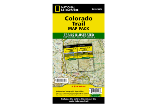 National Geographic National Geographic Colorado Trail Map Pack
