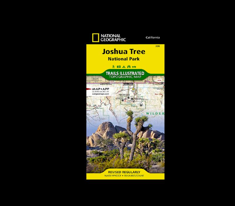 National Geographic 226 | Joshua Tree National Park Map