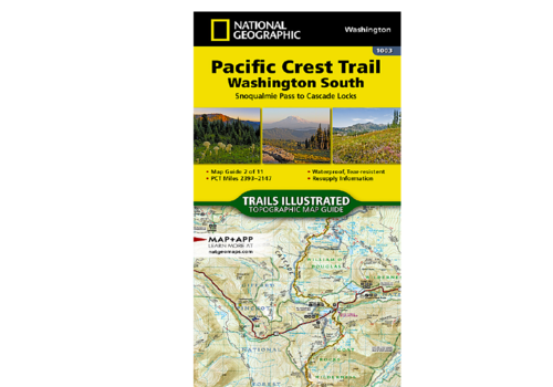 National Geographic National Geographic #1003 | Pacific Crest Trail South Map