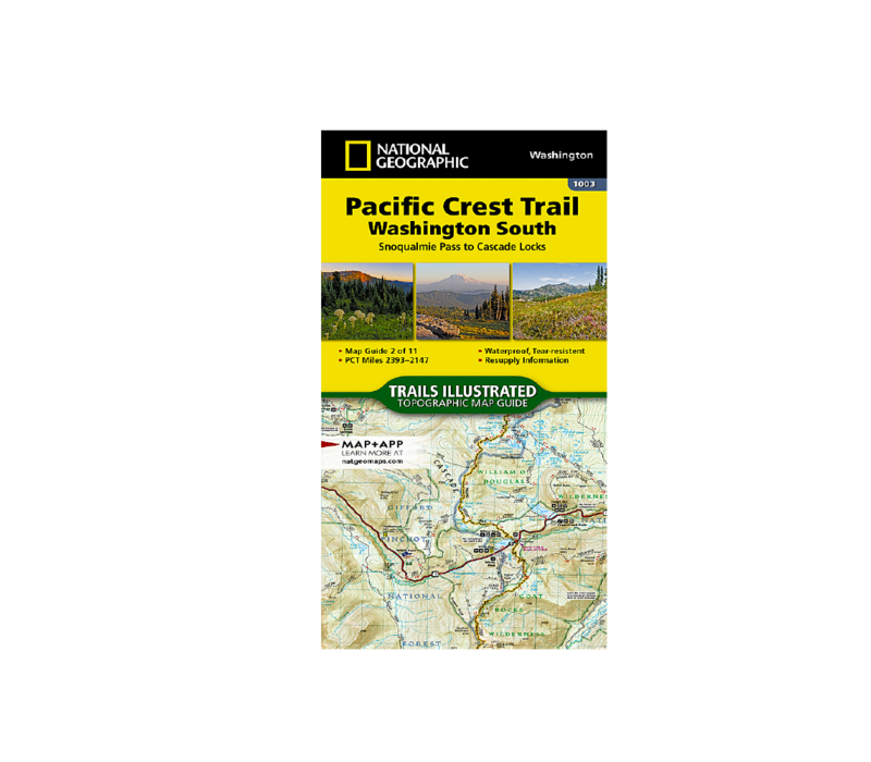 National Geographic #1003 | Pacific Crest Trail South Map