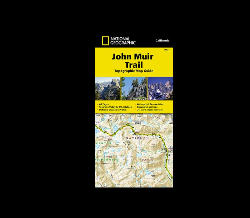 National Geographic #1001 | John Muir Trail Map