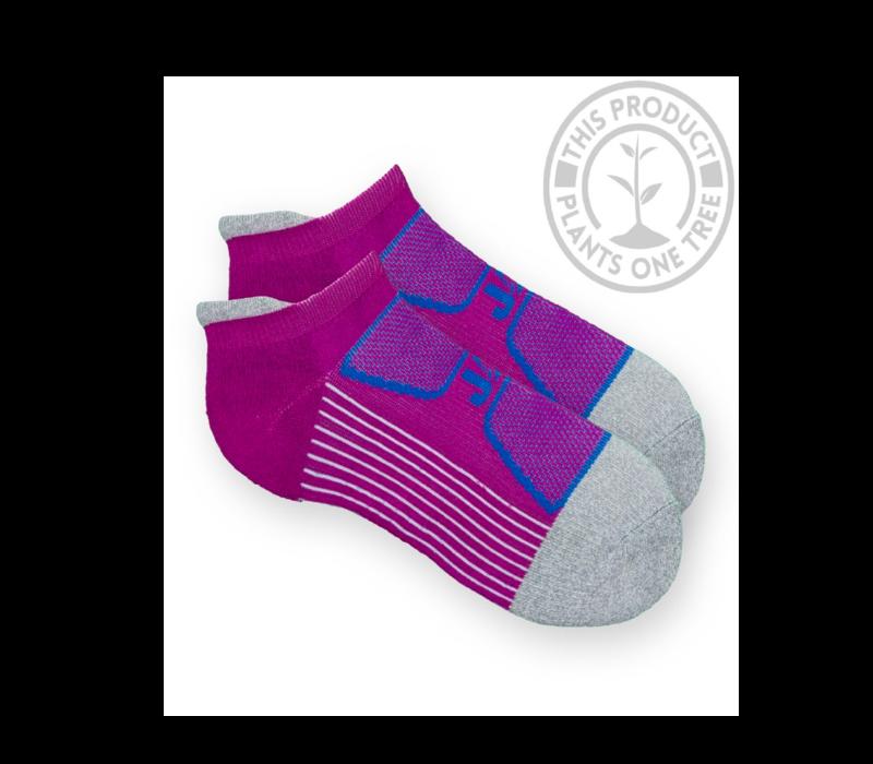 EcoSox Jag Zag Max Optimal Running Socks