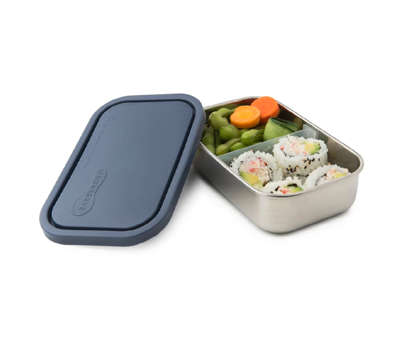 U-Konserve Divided Rectangle Container Ocean