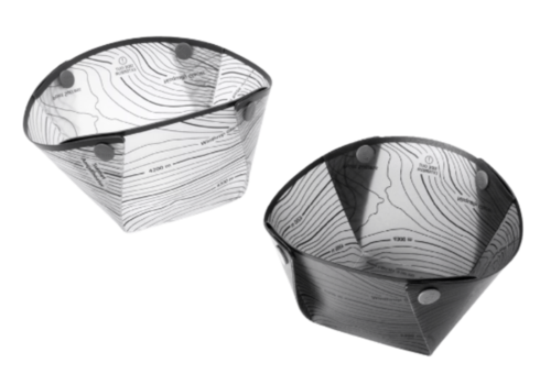Fozzils Fozzils Bowls 2 Pack Grey | White