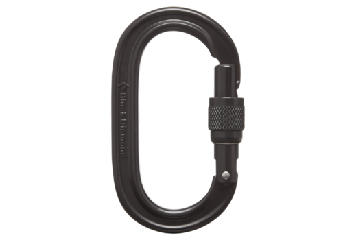 Black Diamond Black Diamond Oval Keylock Screwgate Carabiner
