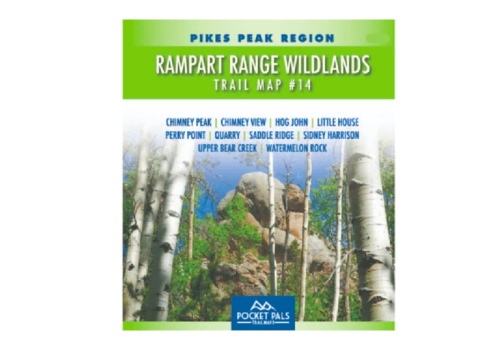 Pocket Pals - Rampart Range Wildlands, Trail Map #14
