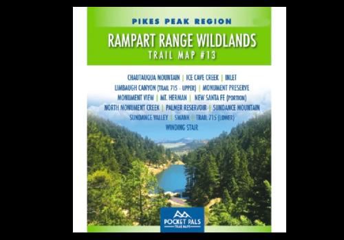 Pocket Pals - Rampart Range Wildlands, Trail Map #13
