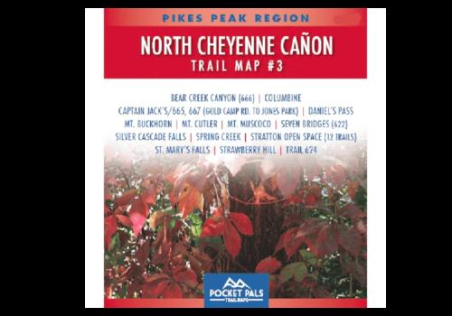 Pocket Pals - N. Cheyenne Cañon Area, Trail Map #3