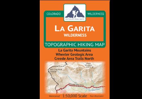 Outdoor Trail Maps La Garita Wilderness Map