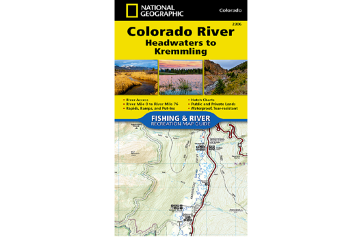 National Geographic National Geographic 2306: Colorado River Headwaters to Kremmling Map