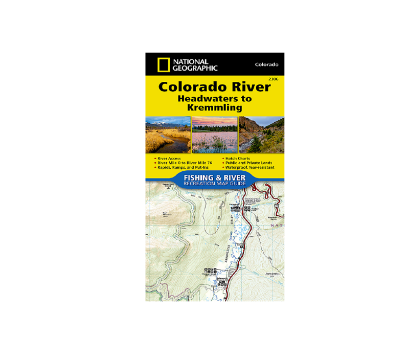 National Geographic 2306: Colorado River Headwaters to Kremmling Map