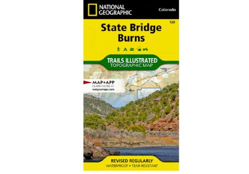 National Geographic National Geographic 120: State Bridge | Burns Map