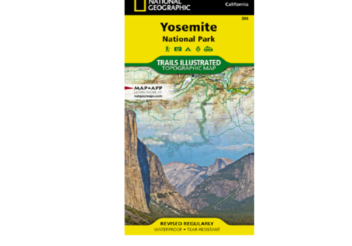 National Geographic National Geographic Map | 206 | Yosemite National Park