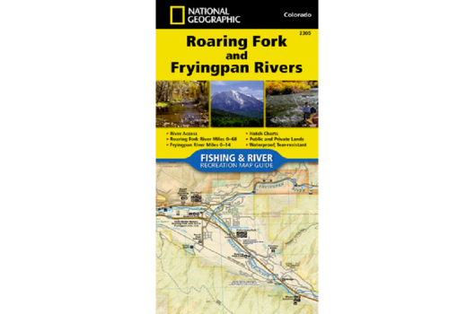 National Geographic National Geographic 2305 Roaring Fork and Frying Pan Rivers Map
