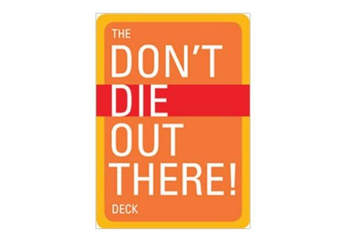 Mountaineers Publishing The Don't Die Out There Deck