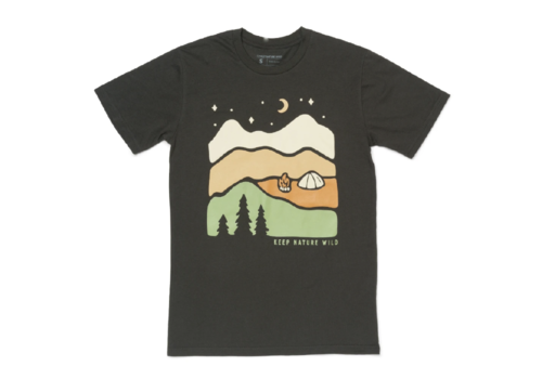 Keep Nature Wild Keep Nature Wild Better In Mountains Unisex Tee