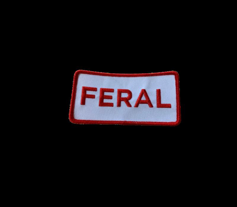 FERAL Bold Logo Patch Trucker Hat Navy