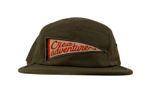 FERAL FERAL Create Adventure Patch Jockey Hat