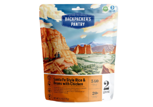 Backpacker's Pantry Backpacker's Pantry Santa Fe Rice w' Chicken Freeze-Dried Meal