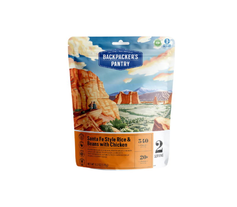 Backpacker's Pantry Santa Fe Rice w' Chicken Freeze-Dried Meal