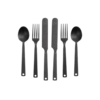 Barebones Living Barebones Living Matte Black Flatware Set