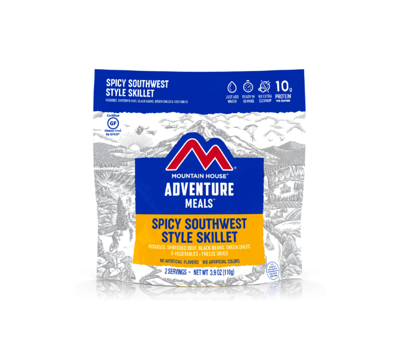Mountain House Spicy Southwest Style Skillet Freeze Dried Meal