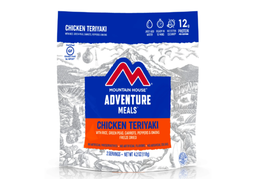 Mountain House Mountain House Chicken Teriyaki w' Rice Freeze Dried Meal
