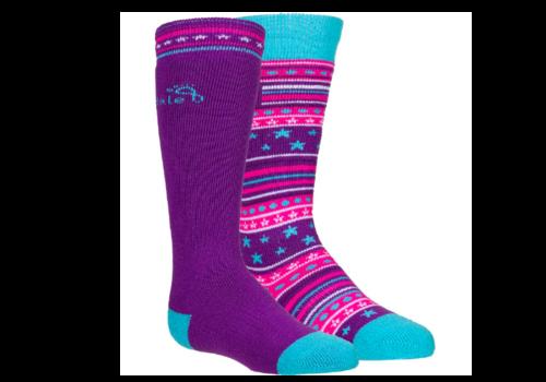 Bridgedale Bridgedale Kid's Merino Ski Socks 2 Pack