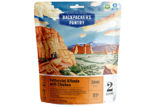 Backpacker's Pantry Backpacker's Pantry Fettuccini Alfredo w' Chicken Freeze-Dried Meal