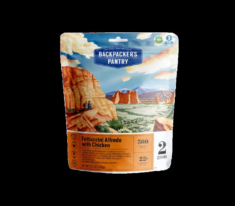 Backpacker's Pantry Fettuccini Alfredo w' Chicken Freeze-Dried Meal