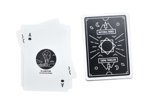 Artica Artica National Parks Playing Cards