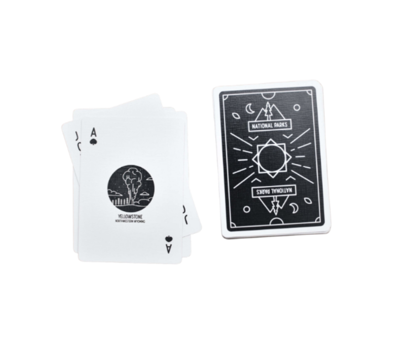 Artica National Parks Playing Cards