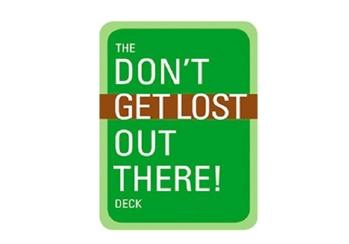 Mountaineers Publishing Don't Get Lost Out There Deck