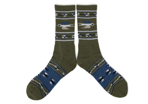 The Ampal Creative Ampal Creative Heather Thunderbird Socks