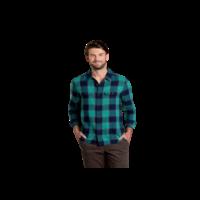 Toad & Co. Men's Indigo Long Sleeve Slim Flannel