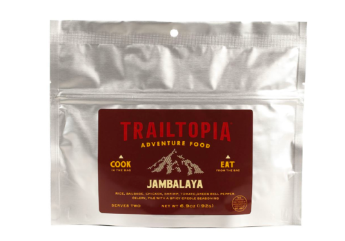 Trailtopia Trailtopia Jambalaya Gluten Free Freeze Dried Meal 2 Serving