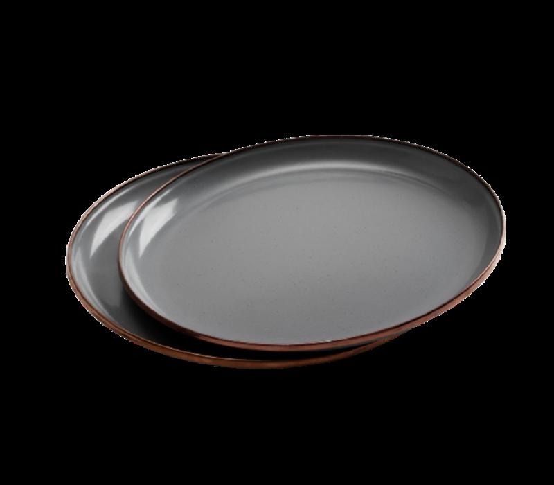 Barebones Living Enamel Deep Plate Set