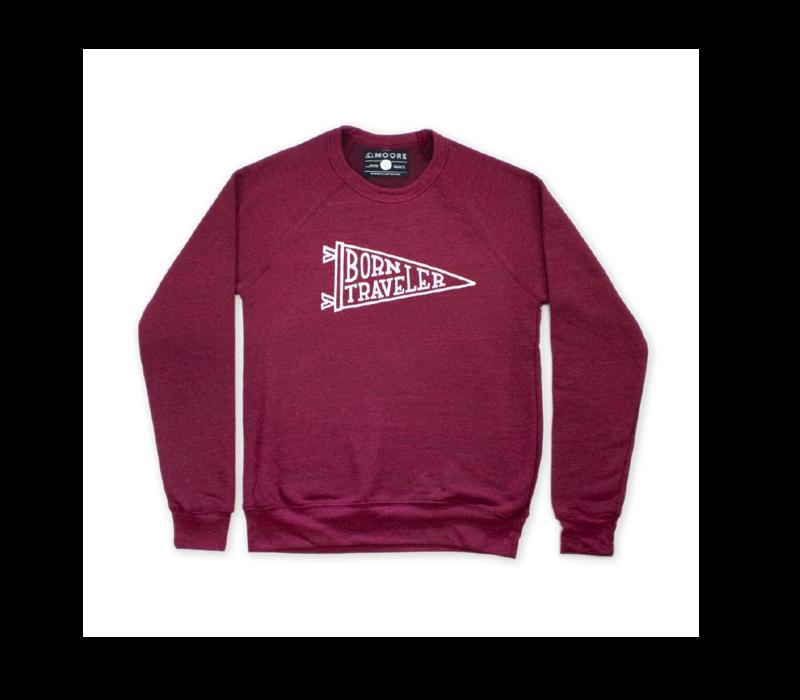 Moore Collection Born Traveler Crew Sweatshirt