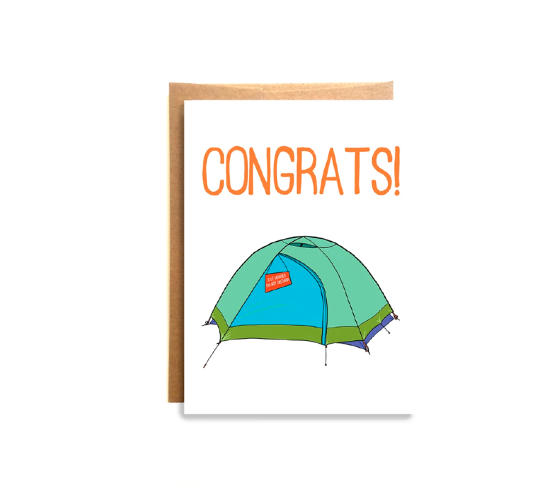 Compass Paper Co. Just Married Greeting Card