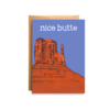 Compass Paper Co. Compass Paper Co. Nice Butte Greeting Card
