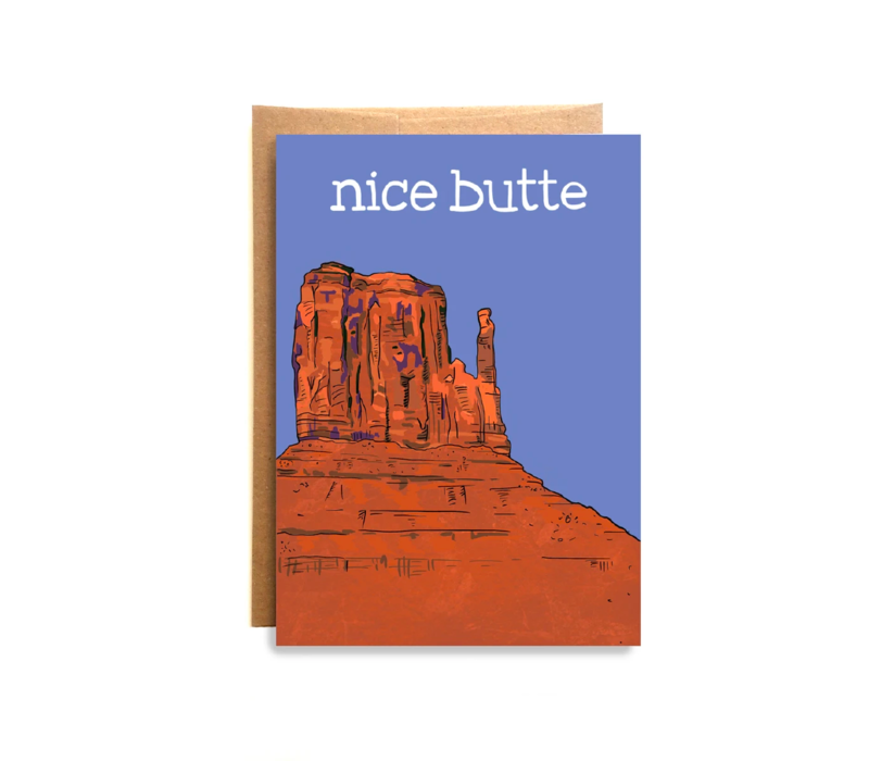 Compass Paper Co. Nice Butte Greeting Card