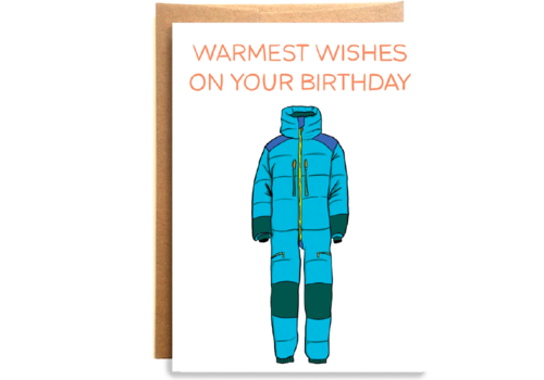 Compass Paper Co. Compass Paper Co. Warmest Wishes Greeting Card