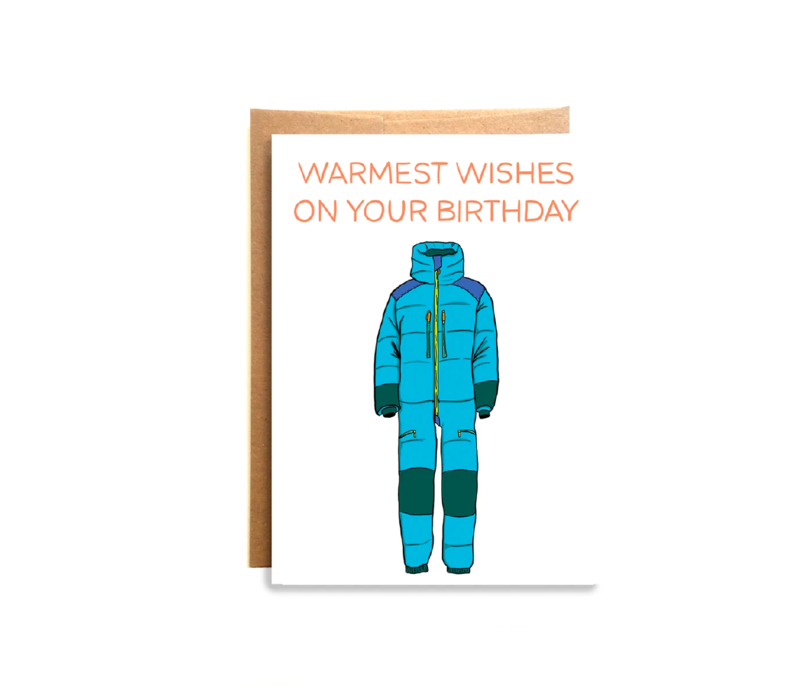 Compass Paper Co. Warmest Wishes Greeting Card