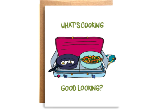 Compass Paper Co. Compass Paper Co. What's Cooking Card Greeting Card