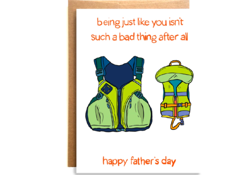 Compass Paper Co. Compass Paper Co. Bad Thing Dad Greeting Card