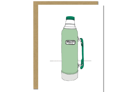 Sloe Gin Fizz Stanley Thermos Greeting Card