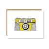 Sloe Gin Fizz Agfa Optima Camera Greeting Card