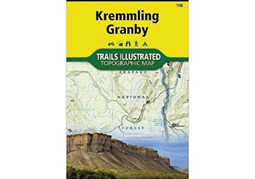 National Geographic National Geographic 106: Kremmling | Granby Map