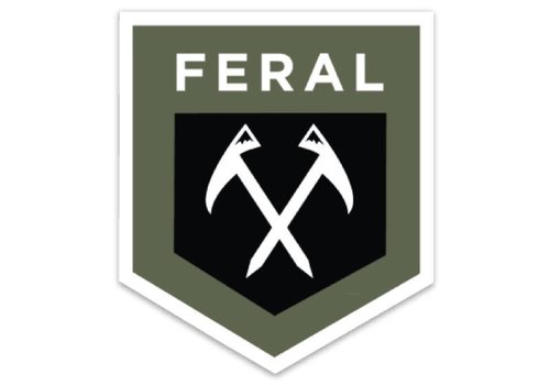 FERAL FERAL Shield Sticker