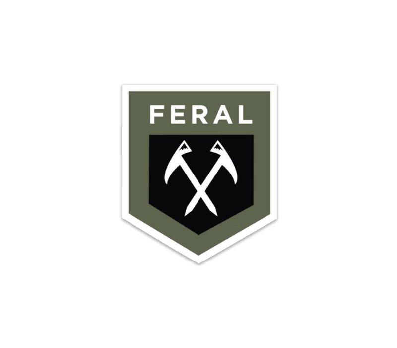 FERAL Shield Sticker